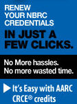 Renew Your NBRC Credentials in Just a Few Clicks