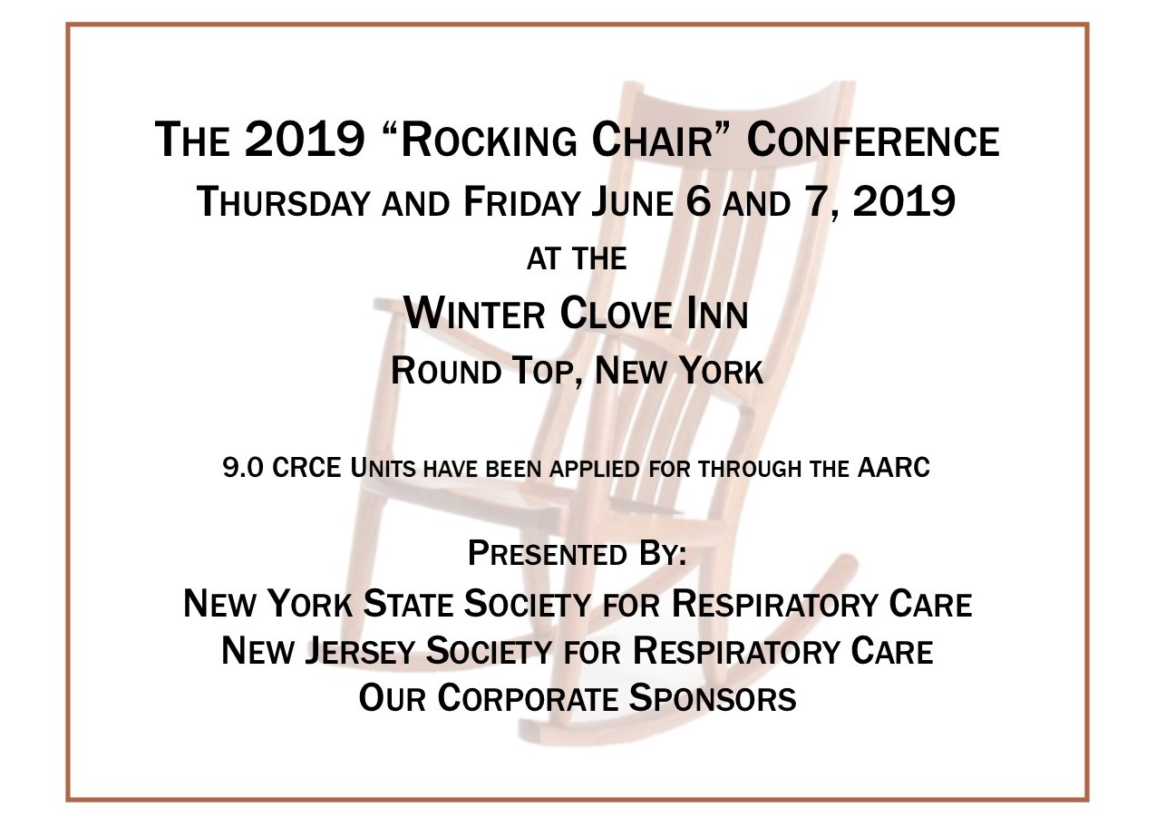 Rocking Chair brochure 2019