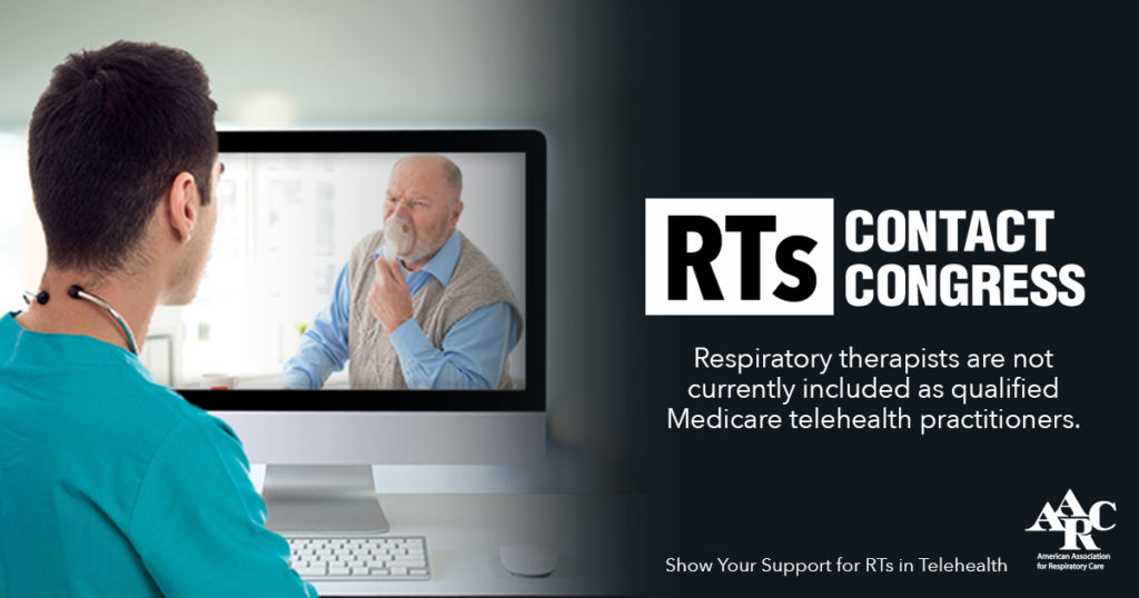 RTs Contact Congress - RT's are currently not included as qualified Medicare providers.
