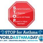 World Asthma Day Logo - 2019